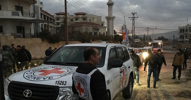 Aid convoys reach 3 Syria communities besieged for months
