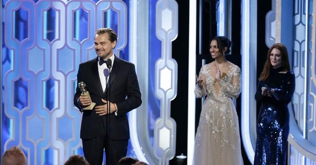 Leonardo DiCaprio wins Golden Globe for dramatic actor