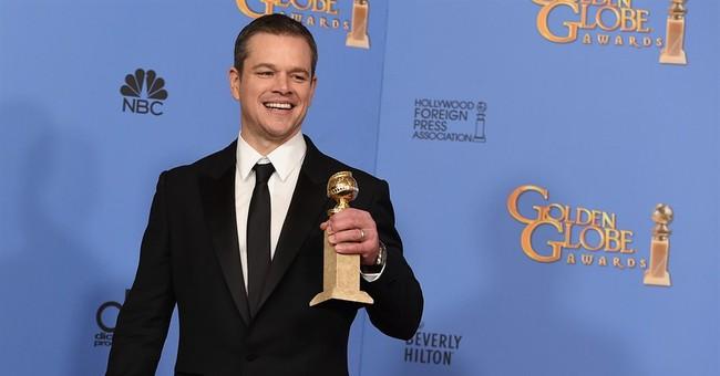 Matt Damon of 'The Martian' wins Globe for comedy actor