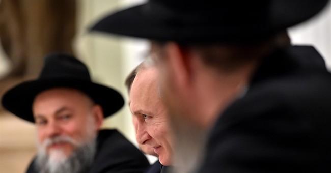 Jewish leader thanks Putin for fighting anti-Semitism