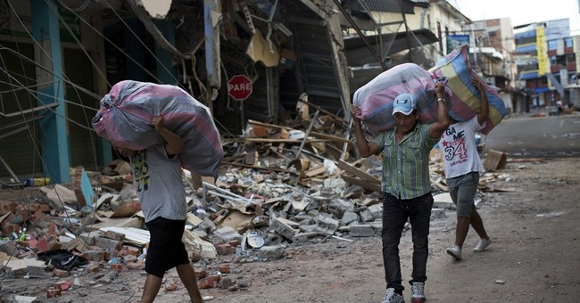 The Latest: Death toll rises to 507 from Ecuador earthquake
