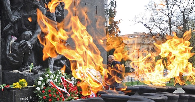 Polish president leads ceremonies to Warsaw ghetto fighters