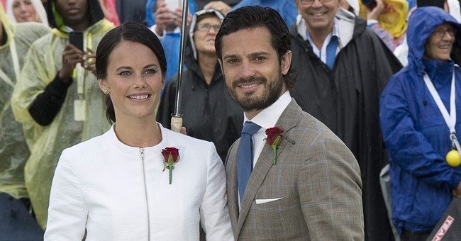 Sweden's Princess Sofia gives birth to baby boy