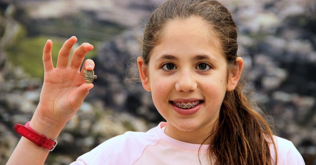 12-year-old Israeli girl discovers ancient Egyptian amulet