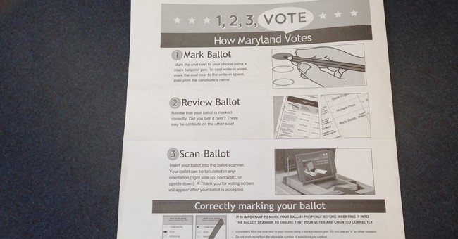Maryland goes back to paper ballots for primary election