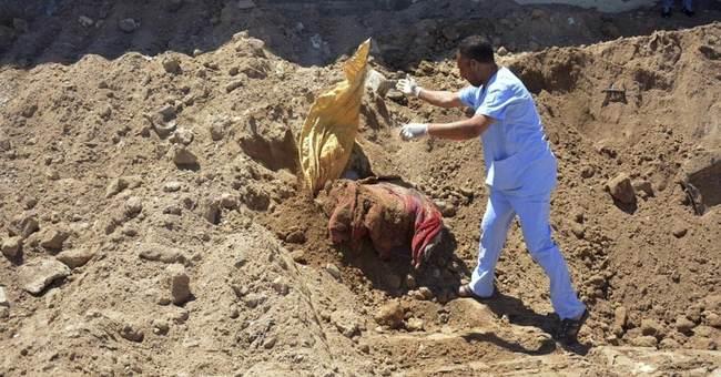 Iraqi police find 2 mass graves in Islamic State-free Ramadi