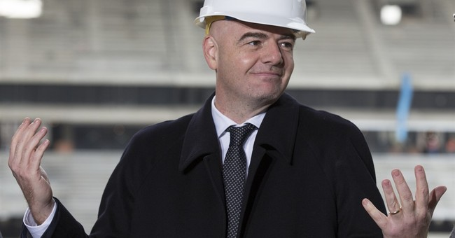 FIFA's Infantino wants video assistance at 2018 World Cup