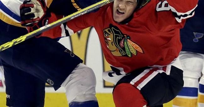 NHL suspends Blackhawks' Shaw 1 game for anti-gay slur