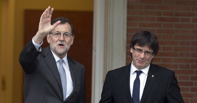 Spain PM holds first talks with Catalan pro-secession leader