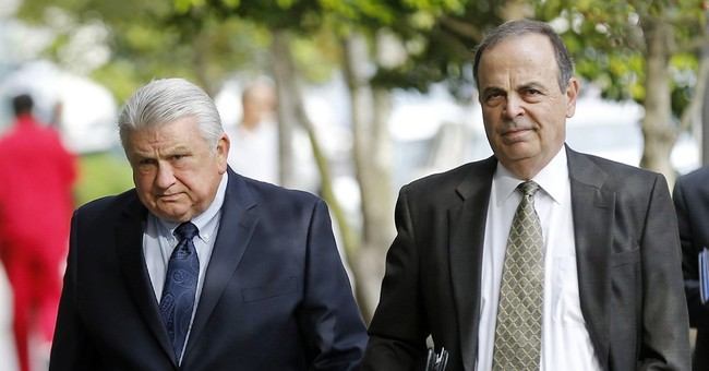The Latest: In 911 call, prosecutor accused of sex assault