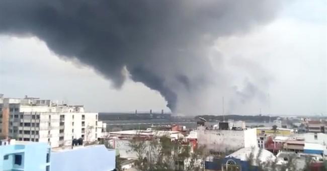 Petrochemical plant blast kills 3, injures dozens in Mexico