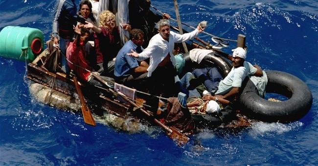 Cubans fleeing in high numbers despite new diplomatic ties