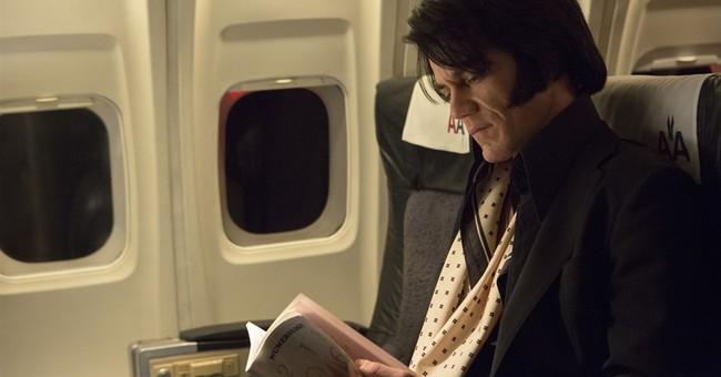Review: 'Elvis & Nixon' recalls a bizarre moment in history