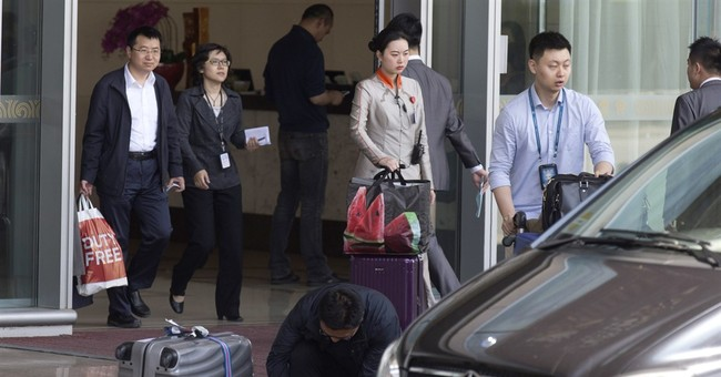 China official spending on perks well under budget last year