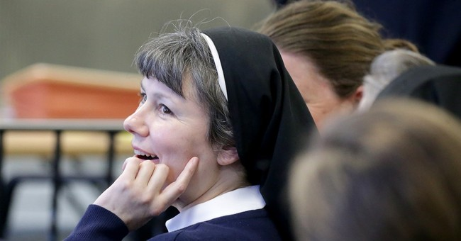 Nun who drove into building is convicted of drunken driving