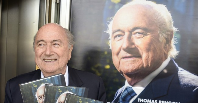 Blatter claims role in trying to remove African president