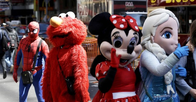 New law mandates better manners from Times Square characters