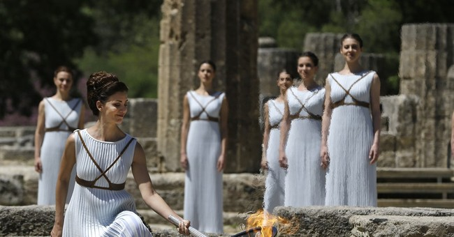 Flame for Rio Olympics is lit at birthplace of ancient Games