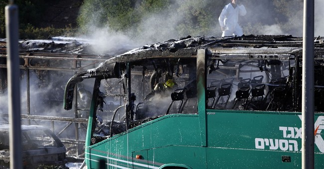 Israel confirms Palestinian man was behind bus bombing