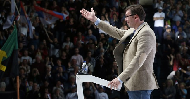 Serbia's PM Vucic likely to solidify power in snap vote