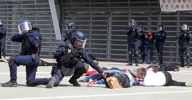 Ahead of festival, French police simulate attack on Cannes