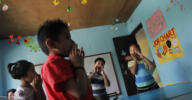 Girls scarred by Nepal quake share friendship, but not luck