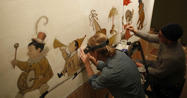 Only known Sendak mural is installed at Philadelphia library