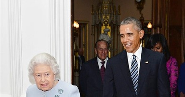 Face time with queen, princes completes Obama's royal visit