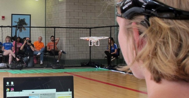 Mind. Blown. Brain-controlled drone race pushes future tech