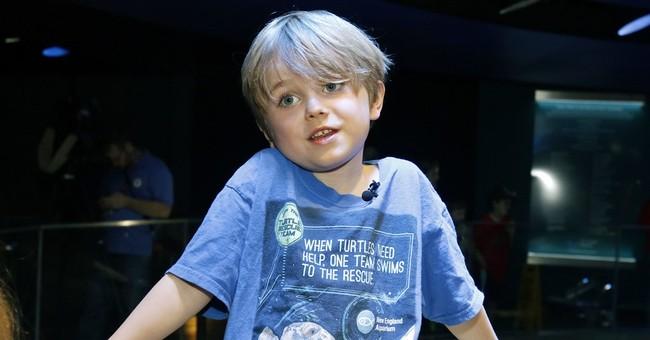 Massachusetts boy skips birthday gifts, gives to sea turtles