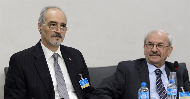 The Latest: UN envoy: Syria talks ongoing, truce in trouble