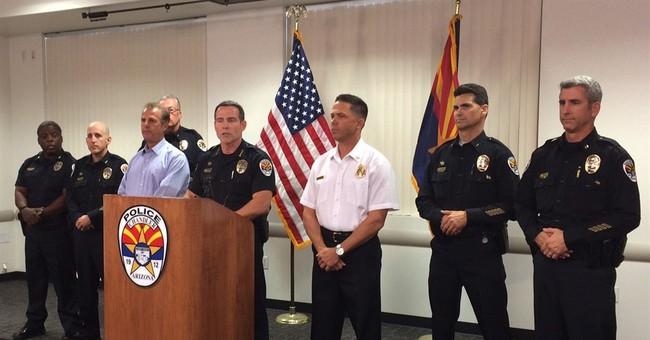 2 officers shot, suspect dead at Walmart in Phoenix suburb