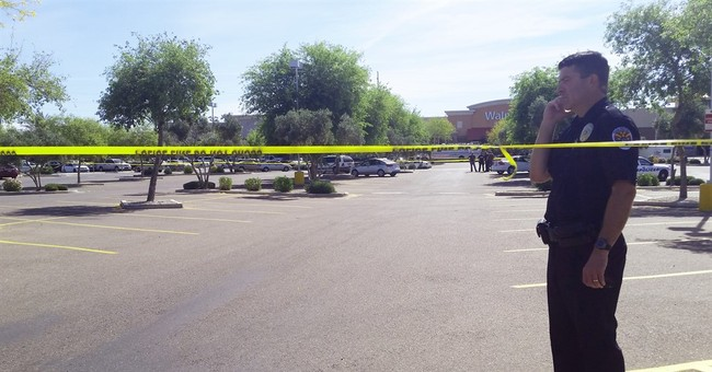 2 officers shot, suspect dead at Walmart in Phoenix suburb