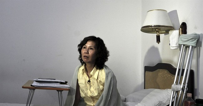 China police stop Western diplomats from visiting dissident