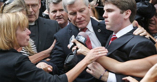 Jurors unmoved by former Va. governor's appeal arguments