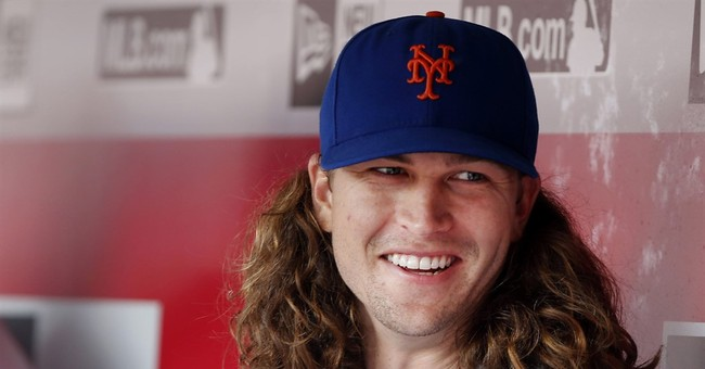 DeGrom returns to Mets after infant son's health scare