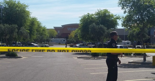 2 officers shot, suspect dead at Wal-Mart in Phoenix suburb
