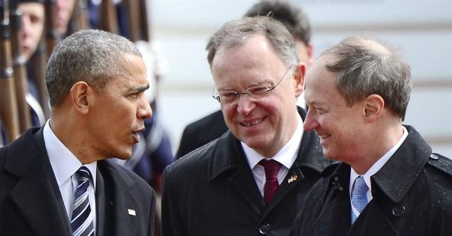 On German visit, Obama to push trans-Atlantic trade deal