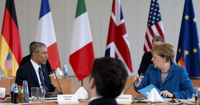 Merkel hints at further military effort in Libya after talks