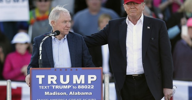 Trump's sole Senate backer serves as Washington gatekeeper