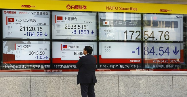Markets Right Now: Asian shares mixed as oil rallies