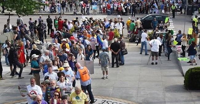 More than 50 arrested protesting new North Carolina law