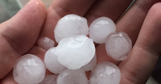 Some facts about hail from the National Weather Service