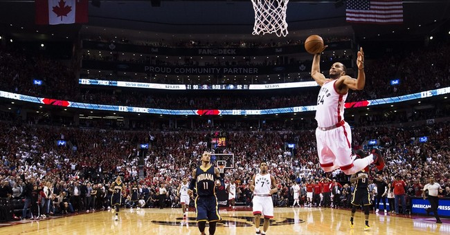DeRozan scores 34, Raptors rally for 3-2 lead over Pacers
