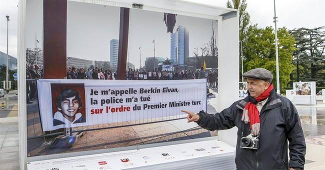 Geneva unbending on Turkish effort to quash photo in exhibit