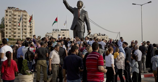 Statue of Nelson Mandela unveiled in West Bank