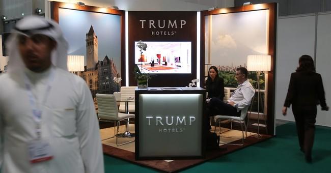 At Mideast tourism forum in Dubai, a surprising name: Trump
