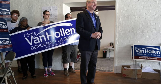 Van Hollen wins Maryland Senate Democratic primary