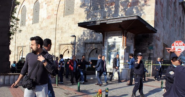 Female suicide bomber hits Turkish city, wounds at least 13