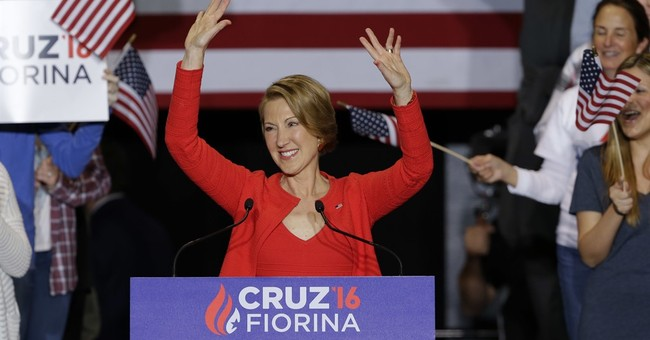 Ted Cruz taps Carly Fiorina to serve as running mate